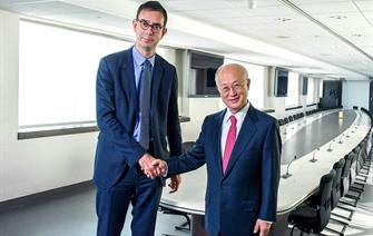 Chairman of the CEA meets with the Director General of the International Atomic Energy Agency (IAEA)
