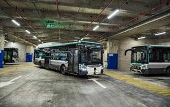 RATP Group, CEA and IVECO BUS hold first ever demonstration in Europe of a fully autonomous garage