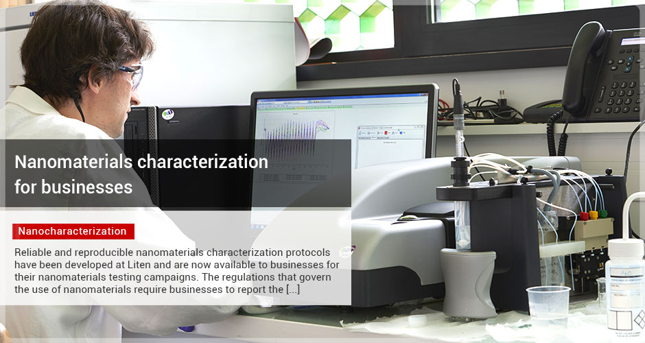 Nanomaterials characterization for businesses