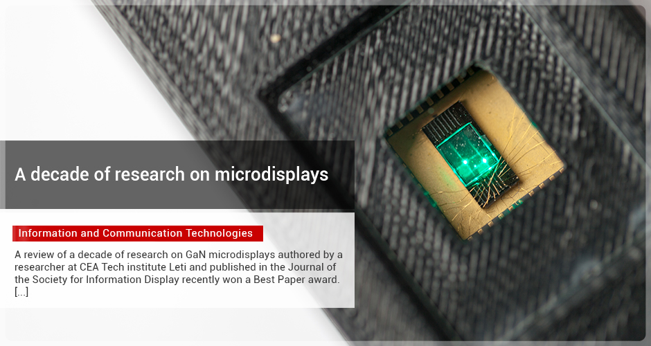 A decade of research on microdisplays