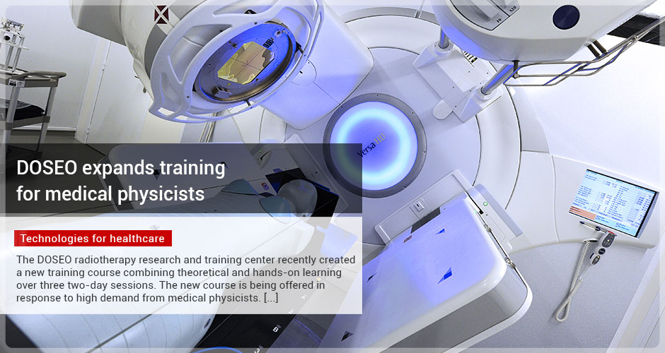 DOSEO expands training for medical physicists