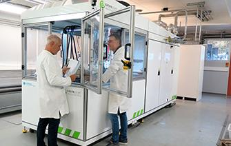 New test bench for high-power fuel cells