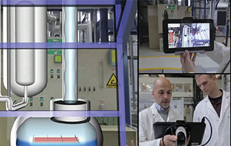 DIOTASOFT - Augmented reality systems for factories