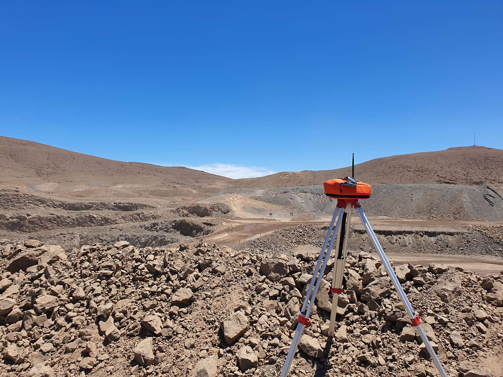 A wireless detonation system designed to increase productivity and safety at open pit mines