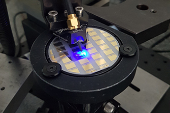 CEA-Leti Researchers Break Throughput Record for LiFi Communications Using Single GaN Blue Micro-Light-Emitting Diode