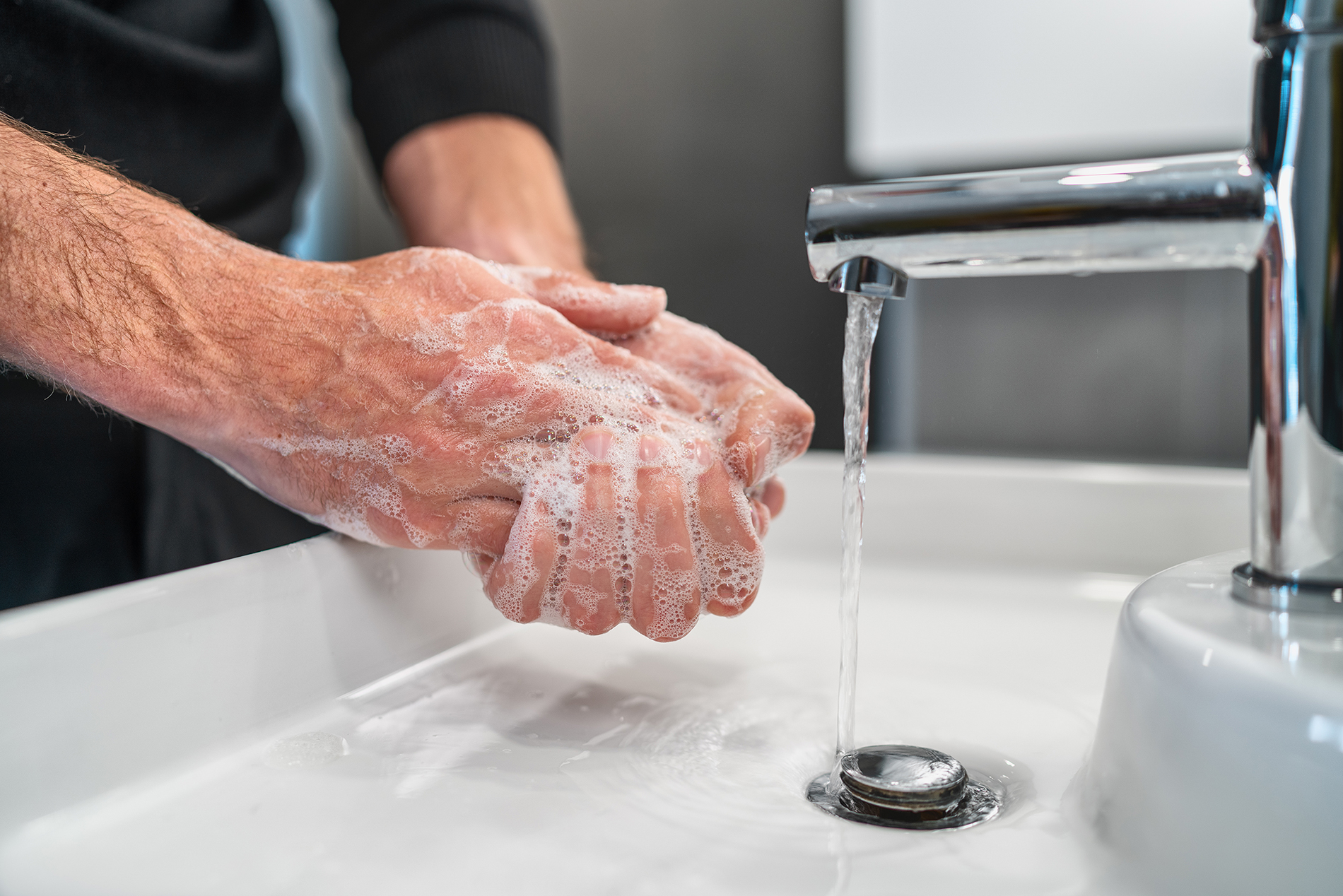 Are you Washing your Hands the Right Way?