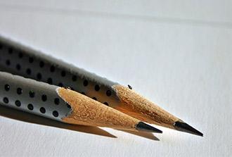 Désaligner pour écrire plus vite