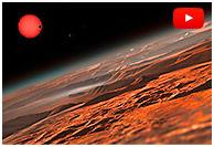 Les planètes exotiques de Trappist-1