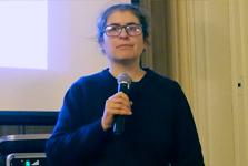 Sara Bolognesi reçoit le Prix Thibaud 2018 de l'Académie des sciences de Lyon