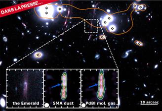 Émeraude : un «bijou» pour comprendre les premières galaxies massives