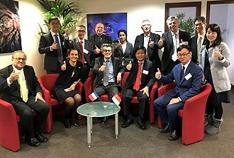 Lancement du projet Scarce associant Singapour et le CEA