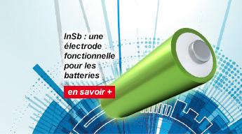 InSb : une électrode fonctionnelle pour les batteries magnésium-ion