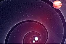 Détecter des exoplanètes grâce aux ondes gravitationnelles