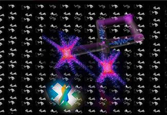 Voir en relief des nanostructures par diffraction laser femtoseconde