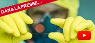 Une molécule capable de bloquer plusieurs toxines, virus et bactéries