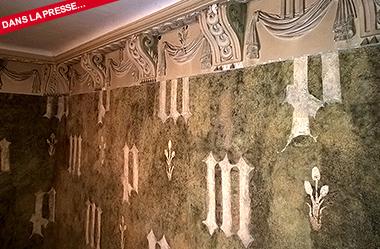 Des peintures murales médiévales datées au carbone 14