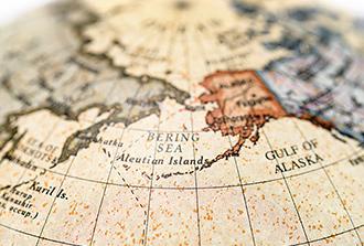 La circulation océanique aurait contribué au premier peuplement de l'Amérique du Nord