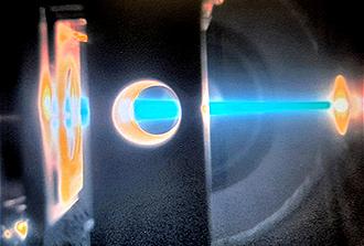 Les premiers faisceaux d'électrons d'HADES