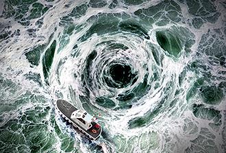 Les tourbillons marins jouent aussi sur l'absorption du CO2 par l'océan