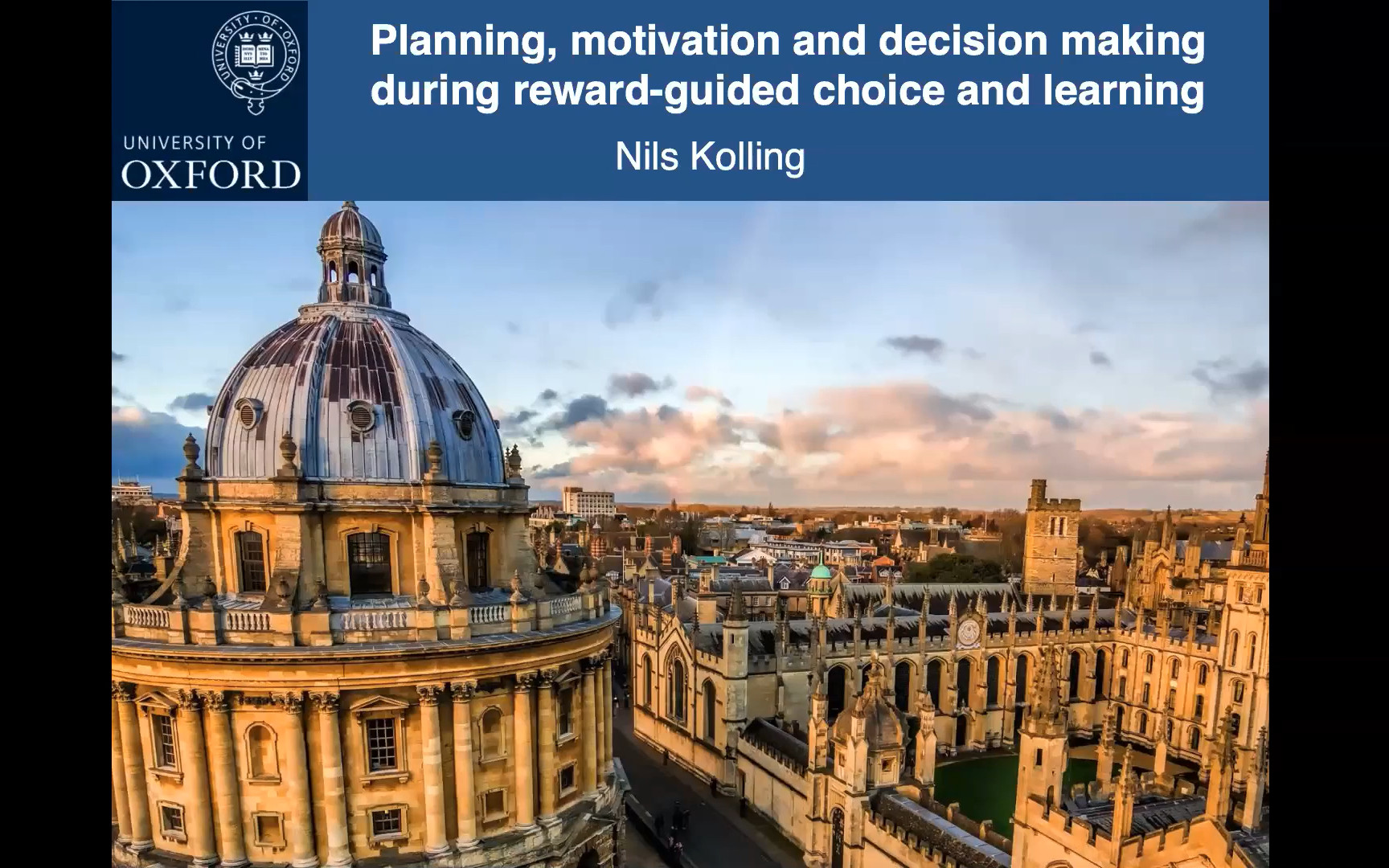 Planning, motivation and decision making during reward-guided choice and learning