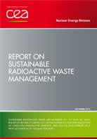 Report on sustainable radioactive waste management