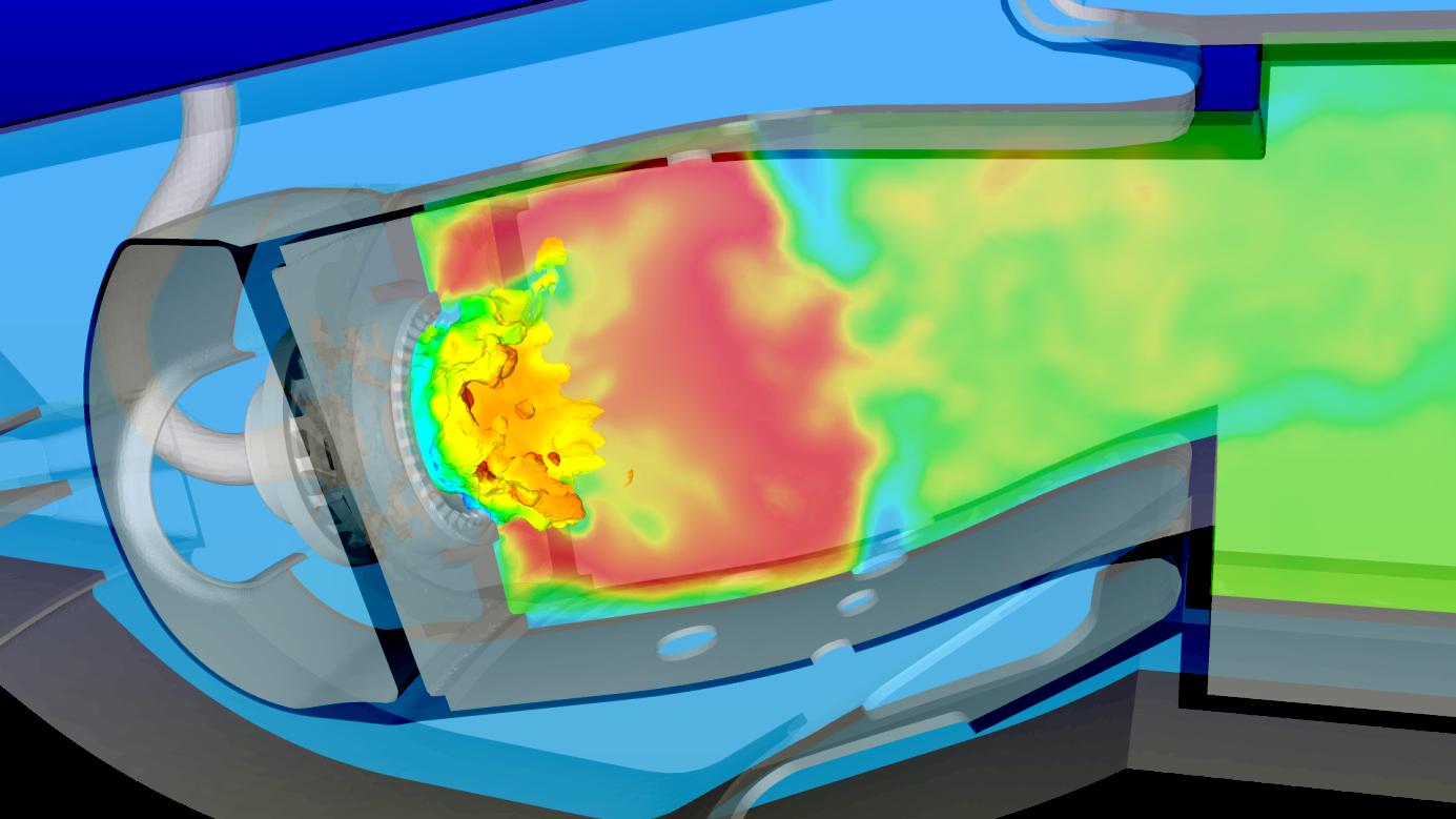 Espace entreprises plateforme pour le calcul intensif for Chambre de combustion annulaire