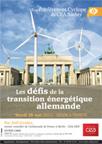Conférence Cyclope  Les défis de la transition énergétique allemande