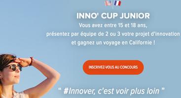 Inno'Cup junior - le challenge des jeunes innovateurs