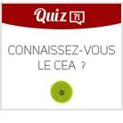 Quiz Connaissance du CEA