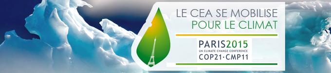 COP21 : le CEA se mobilise pour le climat