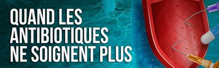 Conférence Cyclope ''Quand les antibiotiques ne soignent plus'' - 5 novembre 20h - INSTN Saclay