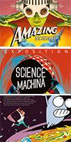 Expos Sciences machina, Amazing Sciences et A la poursuite des neutrinos