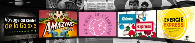 Le CEA réalise des expositions à destination des collégiens et lycéens.