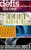 Retour sur l'année de recherche 2013 avec Les Défis du CEA