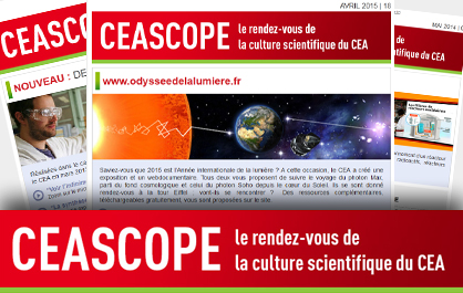 , le rendez-vous de la cultures scientifique du CEA