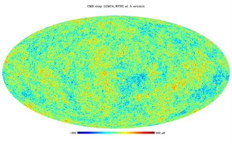 Image of the very first light in the Universe