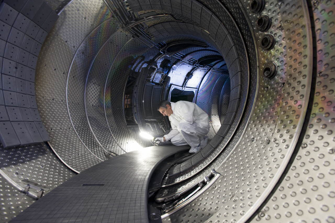 Maintenance du tokamak