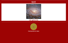Quiz sur les galaxies