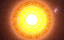 Lumière au cœur du Soleil