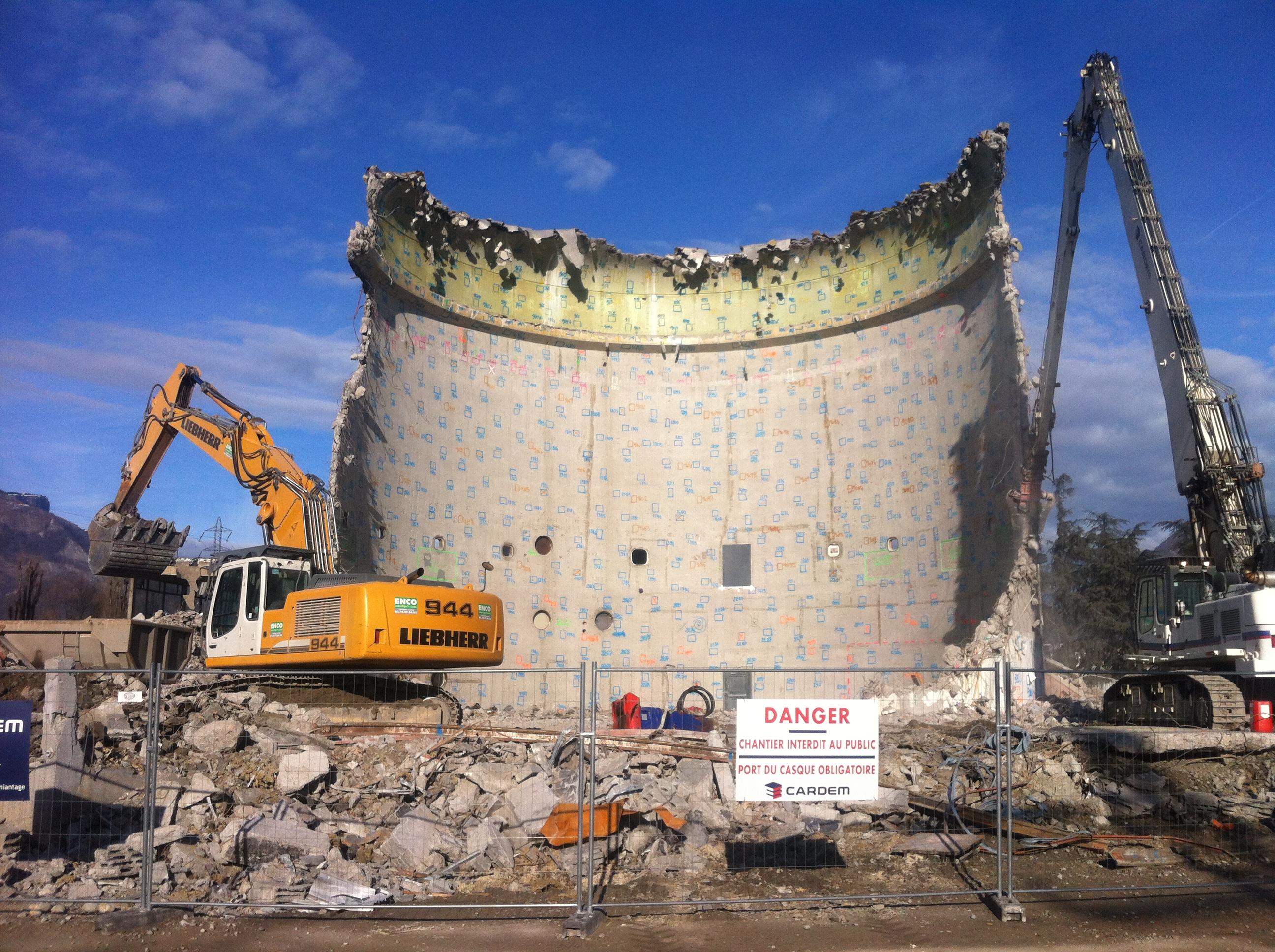 Projet de développement des installations de démolition