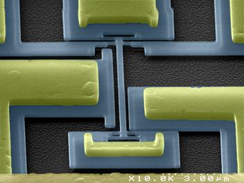 espace presse des nano balances pour peser des virus. Black Bedroom Furniture Sets. Home Design Ideas