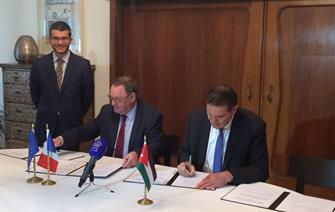 The CEA and Jordanian's JAEC sign a nuclear research agreement