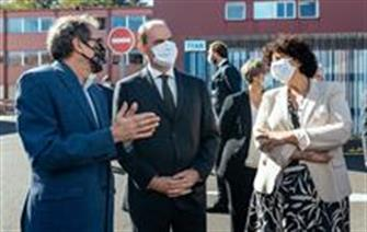 Prime Minister, Minister for Research visit CEA-Paris-Saclay