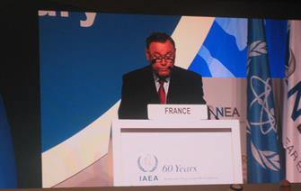 IAEA ministerial conference on Nuclear Power in the XXIst century in Abu Dhabi