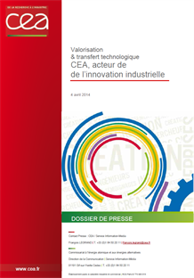 Le CEA, acteur de l'innovation industrielle