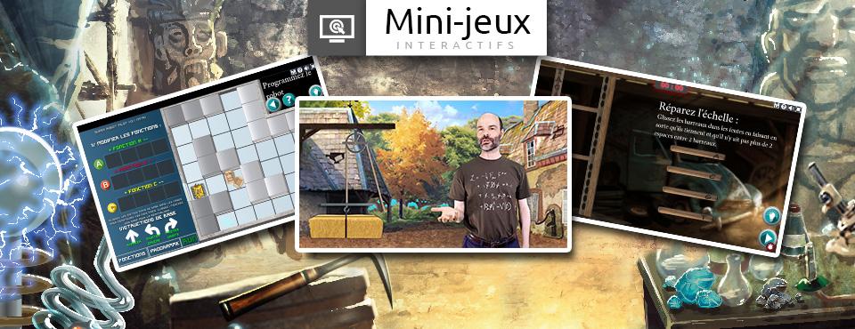 Découvrez les premiers mini-jeux interactifs pour un usage modulaire en classe